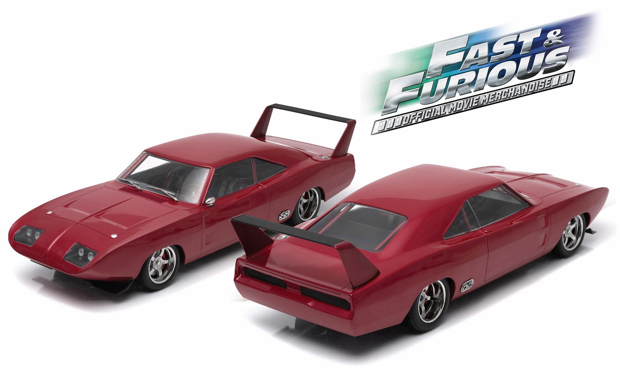 19003 118 1969 Dodge Charger Daytona Custom Fast Furious Kombi
