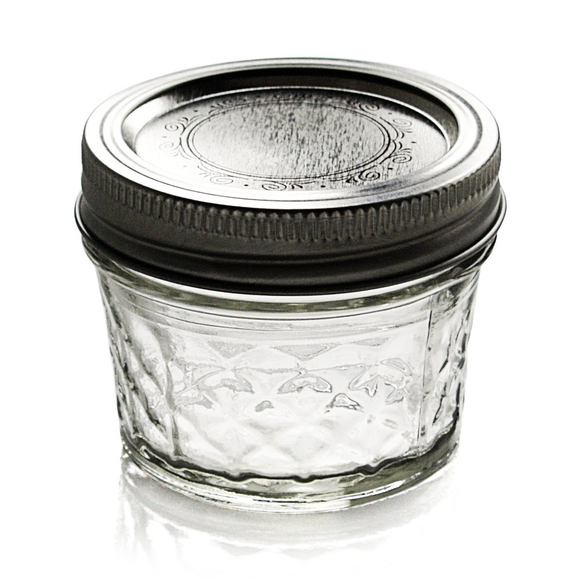 Ball Quilted Crystal Jelly Jar – Clear 4oz – Set of 12 | Kombi ... : ball 4 oz quilted jelly jars - Adamdwight.com
